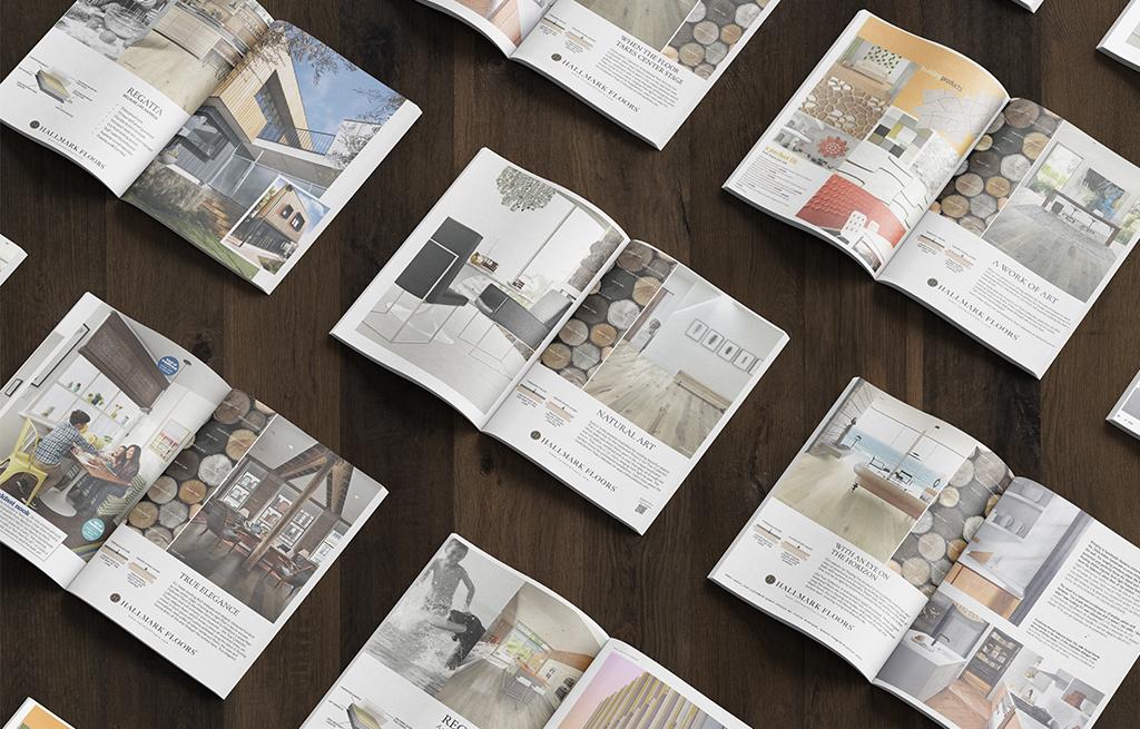 Hallmark Floors in Interior Design Magazine